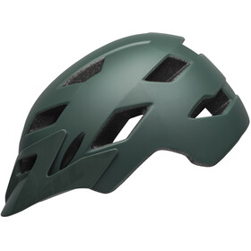 Bell Sidetrack Helmet Children matte dark green/orange